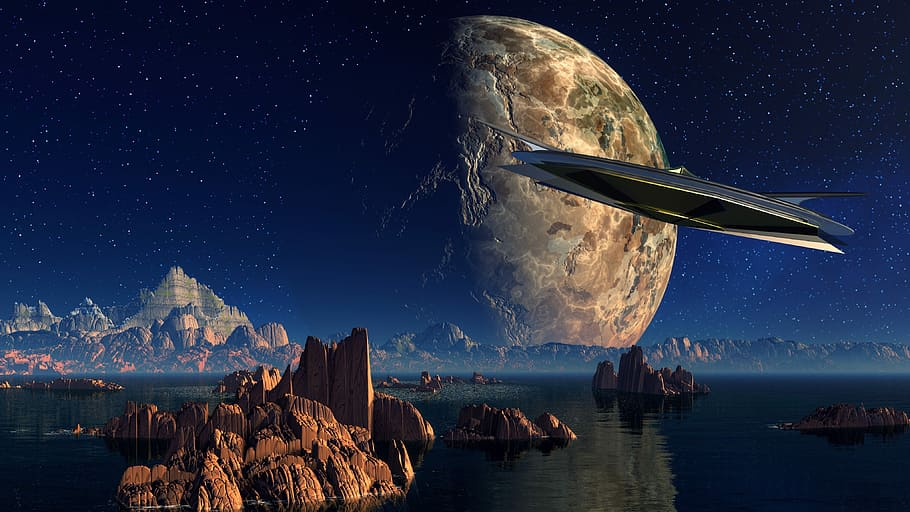 Mundo alienigena, aliens, ovnis, extraterrestres, fantasia, ciencia ficcion, ufo, SETI