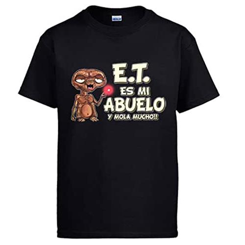 camiseta E.T el extraterrestre, E.T mi casa, E.T telefono