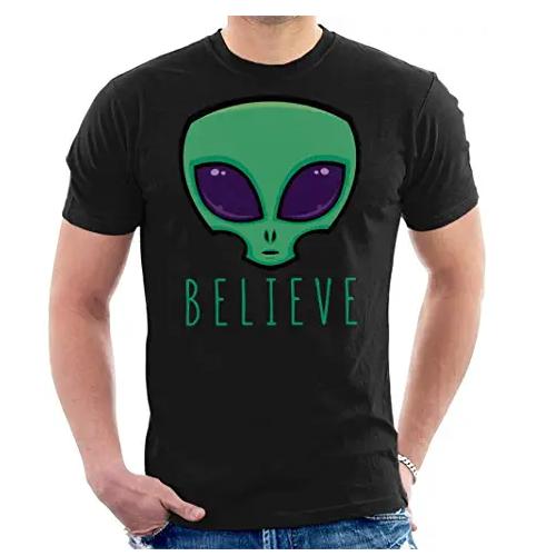 camiseta de extraterrestre, camiseta de alienigena verde, ufo