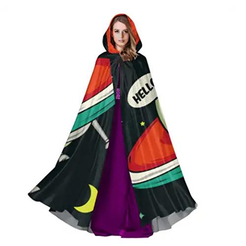 capa disfraz extraterrestres