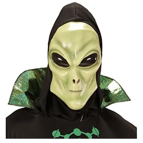 máscara de látex, máscara amazon, máscara de marciano, máscara de extraterrestre, máscara de monstruo, máscara de halloween,máscara de aliens