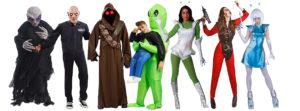 disfraces de extraterrestres, disfraces alienigenas