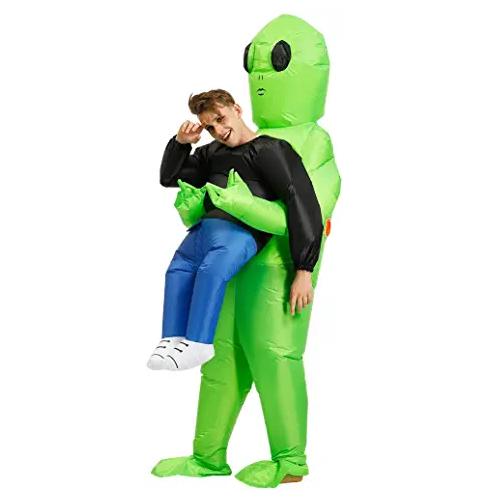 disfraces de alienigenas, disfraces de extraterrestres, disfraces de marciano, traje ufo, traje xenomorfo, disfraz de alien