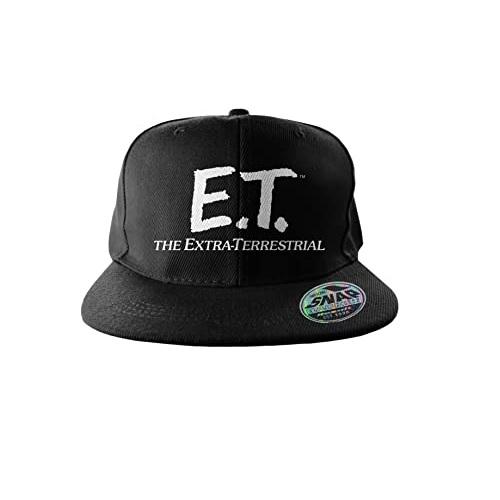 gorra negra de ET, gorra ET, gorra de ET, ET gorras, gorras con ET, gorras de aliens, gorras de alienígenas, gorras de extraterrestres