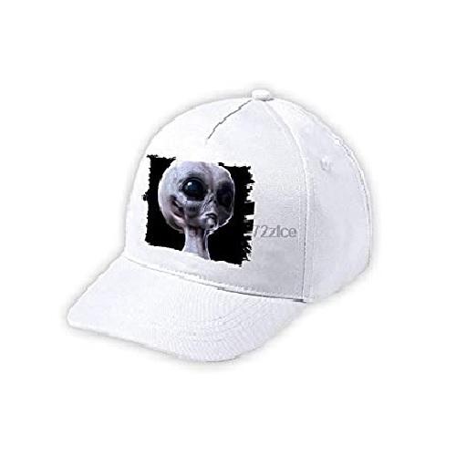 gorra con alien, gorra con alienígena, gorra con extraterrestre, gorra con marciano