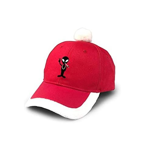 gorra navideña, gorra roja navideña