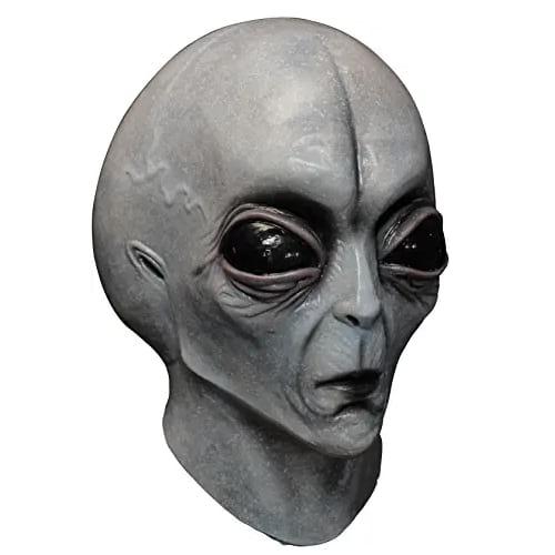 máscaras de látex, máscaras de alienígena gris, máscaras de extraterrestres gris, máscaras de marcianos, máscaras de halloween