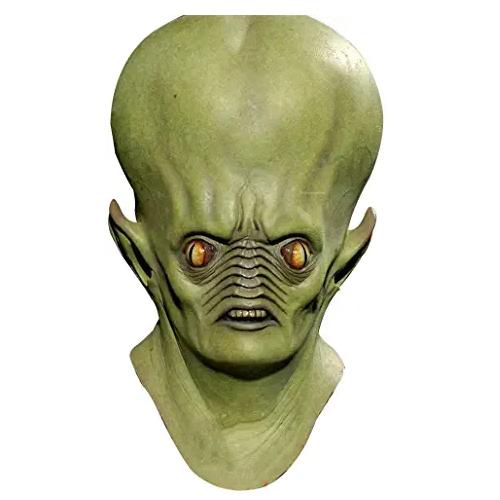 máscara de látex, máscara amazon, máscara de marciano, máscara de extraterrestre, máscara de monstruo, máscara de halloween, mascara de aliens