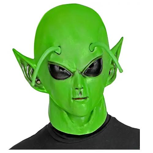 máscara de marciano extraterrestre, máscara de dragon ball