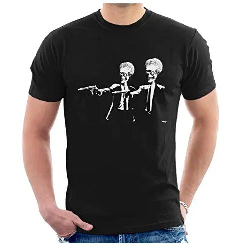 camiseta alien mars attacks y men in black