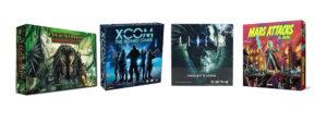 juegos de aliens, juego de mesa xcom, juego de alien hadley's hope, juego de mesa mars attacks, juego legendary encounters