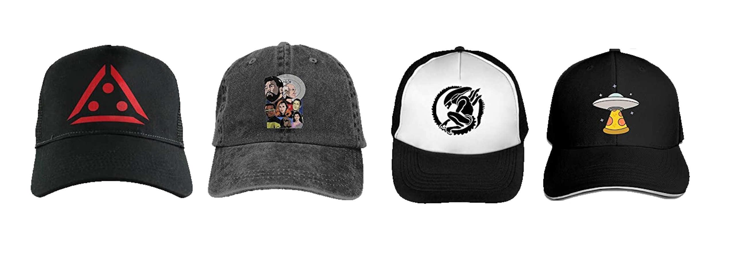 gorras de alienígenas, gorras de aliens, gorras de et, gorras de xenormorfo, gorras de star trek, gorras de predator, gorras de extraterrestres, gorras de ovnis, gorras ufo