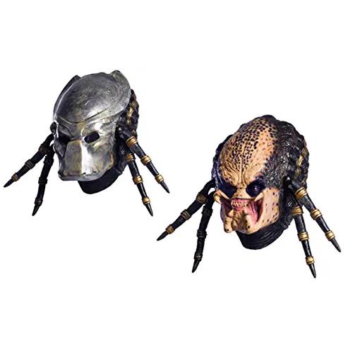 máscara deluxe predator, máscara de predator cosplay, máscara de predator alienígena