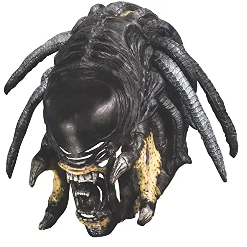 máscara de aliens xenomorfo, máscara de látex, máscara amazon, máscara de marciano, máscara de extraterrestre, máscara de monstruo, máscara de halloween, mascara de aliens