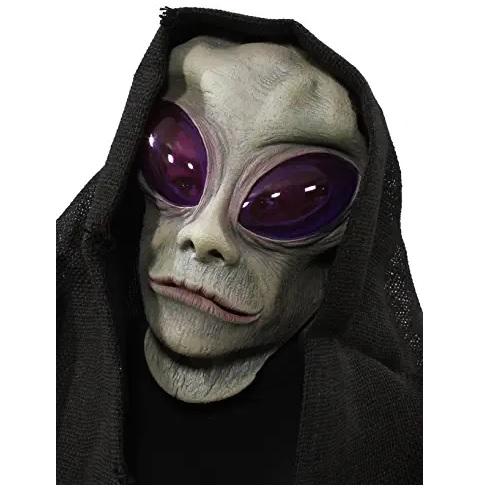 máscara de látex, máscara amazon, máscara de marciano, máscara de extraterrestre, máscara de aliens, mascara alien