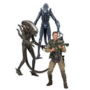 figuras coleccionables de la película alien, figuras de alien, figuras de aliens