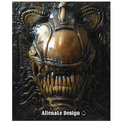 alien xenomorfo Escultura Original, figuras alienígenas