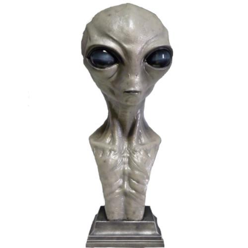 figuras de aliens, busto de alien gris, busto de extraterrestre gris, figura de extraterrestre, marciano figura, figura de extraterrestres