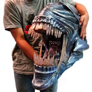 figuras de aliens,busto de alien xenomorfo de la película de la saga alien