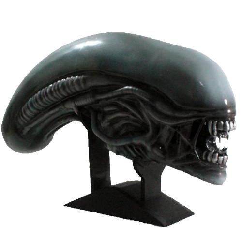 busto de alien xenomorfo de la película de la saga alien, figuras de aliens