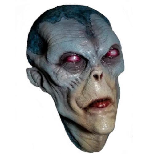 cabeza alienígena gris para pared, figuras de aliens, escultura de alien pared, cabeza de extraterrestre pared, figuras de extraterrestres, extraterrestres clasicos