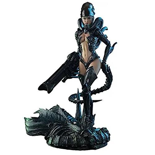 figura Hot Toys de AVP alien girl, figuras de alien coleccionables