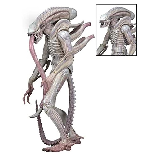 NECA Figura de alien albino, figuras de alien coleccionables