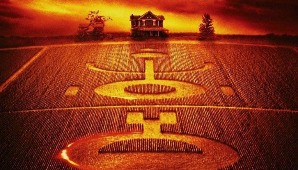"""Película """"Señales"""" de aliens circulos de las cosechas y  en categoria películas de extraterrestres"""