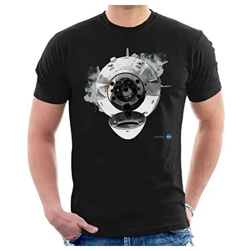 camiseta de la nasa capsula espacial con  en ropa de la nasa en dealiens.shop