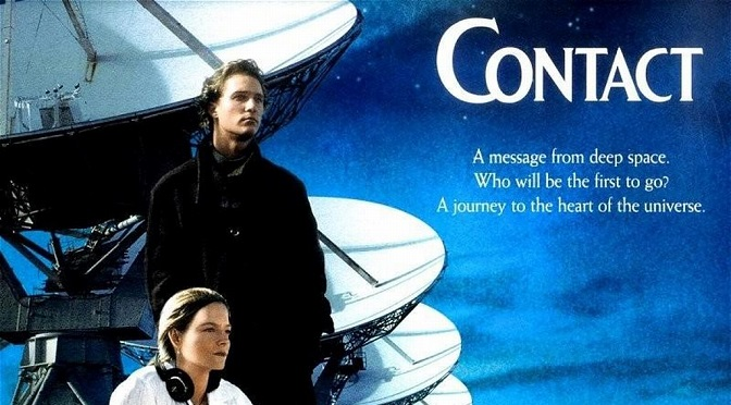 pelicula CONTACT con Jodie Foster, mejores peliculas de extraterrestres