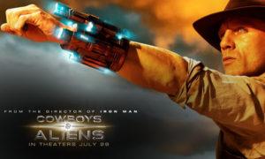 película cowboys y aliens