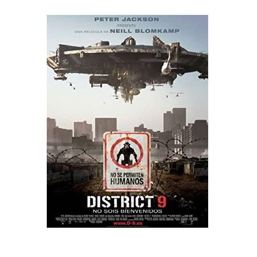 película distrito 9, mejores peliculas de extraterrestres