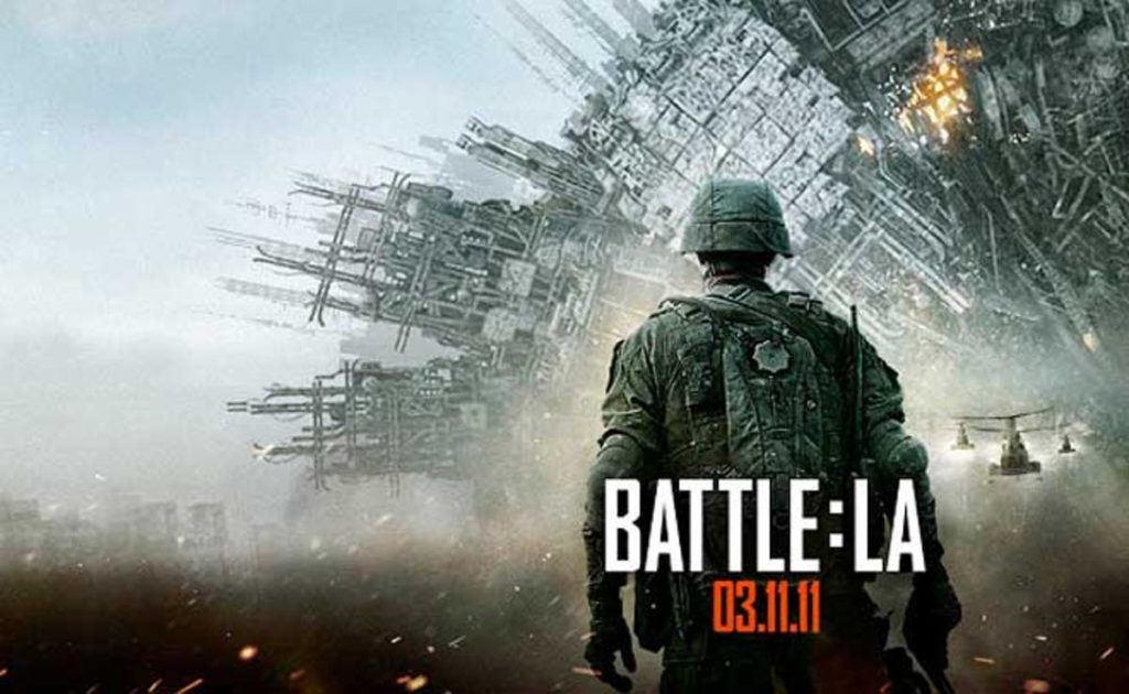 película invasión a la tierra, la batalla de los angeles  en categoria películas de extraterrestres