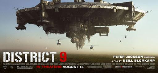 Pelicula Distrito 9 de peter jackson  en categoria películas de extraterrestres