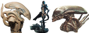 Figuras de alien, estatuas de alien, bustos de alien, figuras coleccionables de alien, hot toys de alien, NECA AVP, NECA Alien