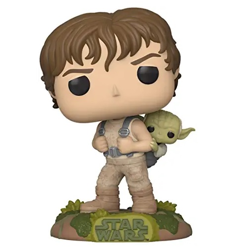 funkos de aliens, FUNKO POP Star Wars - Training Luke with Yoda, funko pop mandaloriano baby yoda
