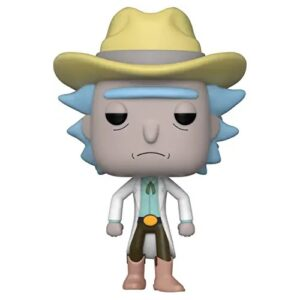 funkos exclusivos, FunKo Pop Rick y Morty Western Rick Summer Convention Exclusive