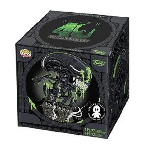 Caja funko de Alien, Funko Alien Pop! & tee Box 40th Xenomorph heo Exclusive, funko pop de alien
