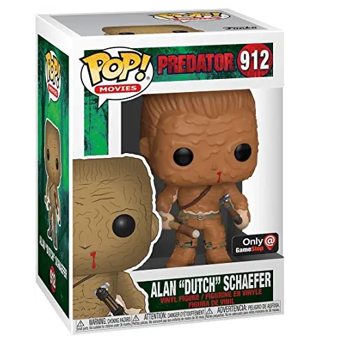 Funko Pop! Predator Alan Dutch Shaefer Escena final Muddy Exclusive, funko pop, funkos de aliens
