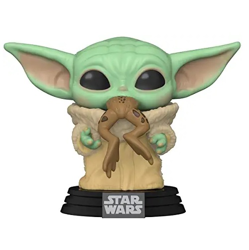 funkos de aliens, Funko-Pop Star Wars The Mandalorian-The Child Frog Figura Coleccionable, funko baby yoda