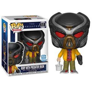 Funko Pop! The Predator Rory with Predator Mask Exclusive, funkos de aliens