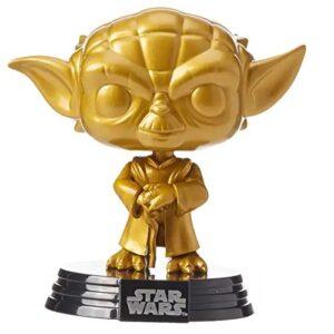 funko de yoda oro, Star Wars Funko Pop Películas Gold Edition - Yoda