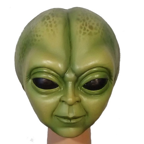 máscara de látex, , máscara de marciano, máscara de extraterrestre clásico, máscara de monstruo, máscara de halloween, mascara de aliens