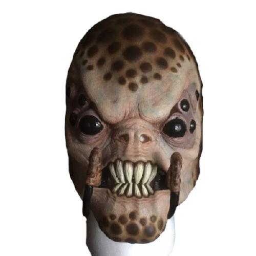 máscara de látex, , máscara de marciano, máscara de extraterrestre clásico, máscara de hombre araña, máscara de halloween, mascara de aliens