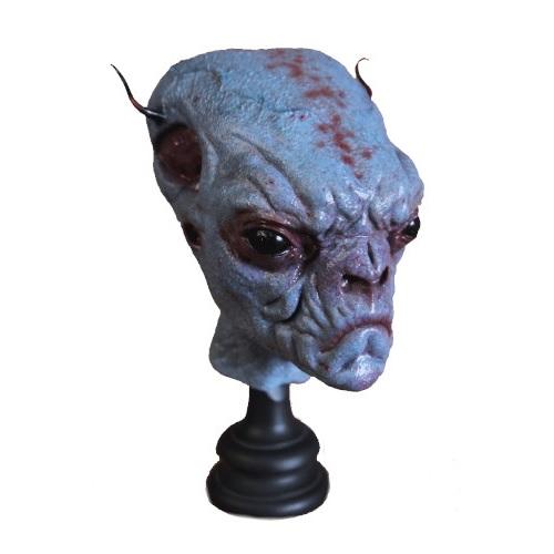 busto alien extraterrestre azul