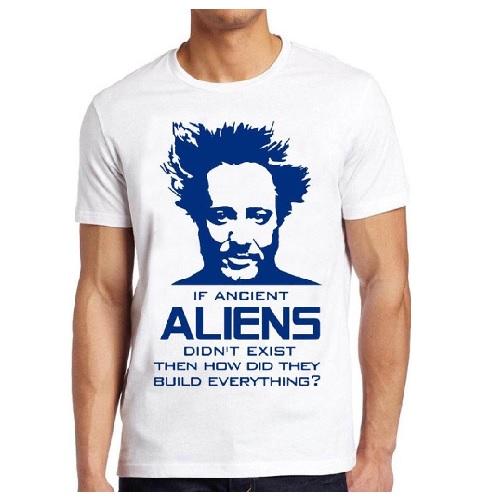 camiseta de aliens, camiseta ancient aliens
