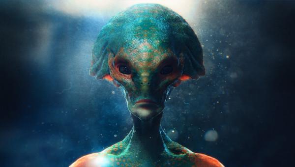 wallpaper de extraterrestres, imagen de extraterrestre acuatico