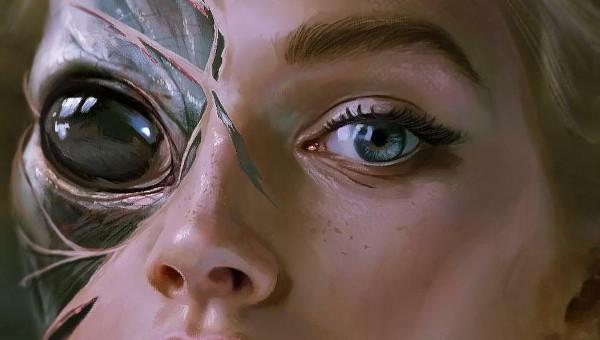 imagen de chica extraterrestre